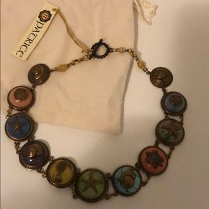 Patrice Vintage European Glass Necklace